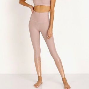 Beyond Yoga Ombré Alloy Speckled Leggings
